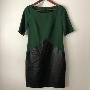 Laundry by design faux leather dress sz 2